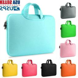 11.6 13.3 14 15.6 Laptop Sleeve Case Handbag Cover For HP Le