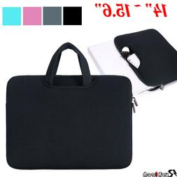 "14""/15.6"" Laptop Case Bag Sleeve with Handle for Macbook Air"