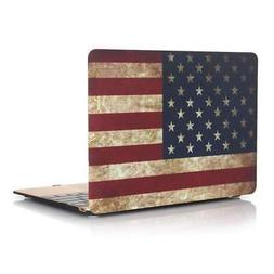 "American Flag Cover Soft-Touch MacBook Pro 13"" A1932 Case Fr"