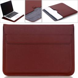 """For Apple MacBook Air/Pro 13"""" Ultrathin Leather Sleeve Bag C"""