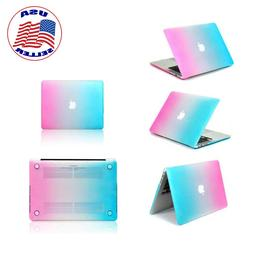 Apple MacBook Pro 13 Hard Case and Keyboard Cover  Rainbow