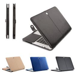 Mosiso Book Cover Case  for Macbook Air 13 13.3  PU Leather