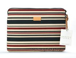Greene Gray Canvas Coated Sleeve Pouch Case MacBook Air 13 M