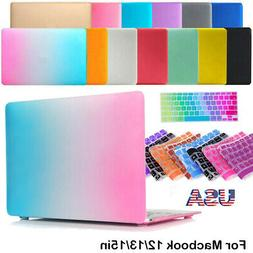 Hard Plastic Case Shell and Keyboard Cover For MacBook AIR R