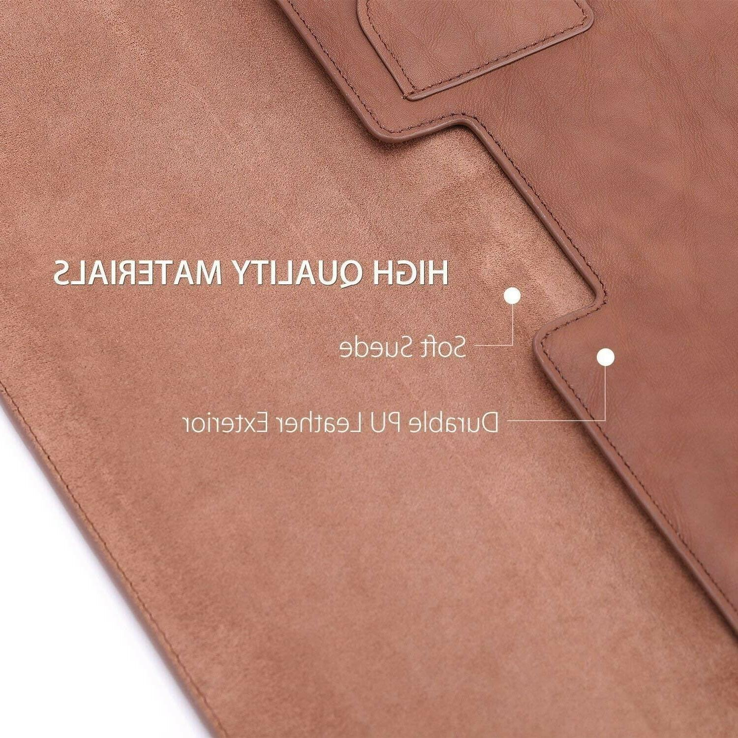 13In Laptop Air Sleeve Dell XPS13 Samsung Notebook Brown