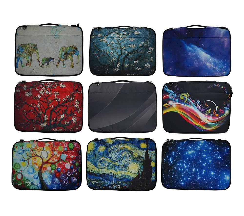 15 6 inch printed canvas laptop sleeve