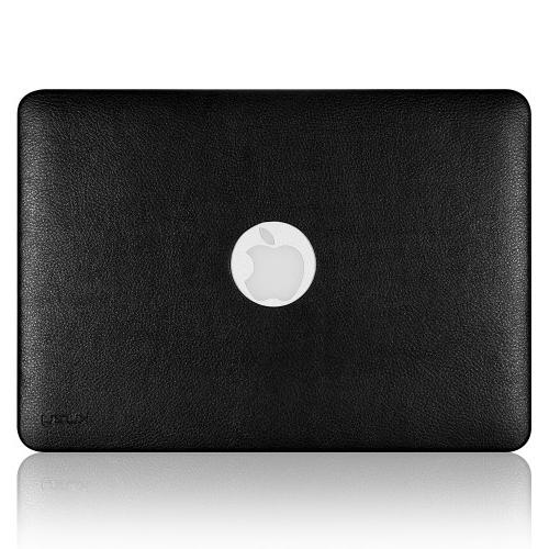 Kuzy AIR BLACK Hard Case for Leatherette Cover