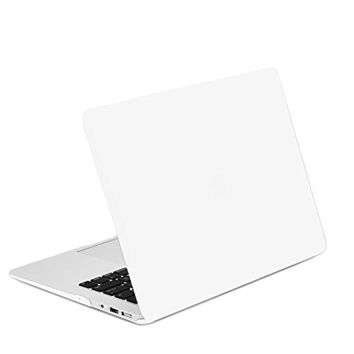 TOP CASE - Rubberized Hard Case Cover Compatible with Apple