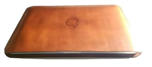For Apple MacBook Pro 16-inch 2020 Leather 6oz Sleeve