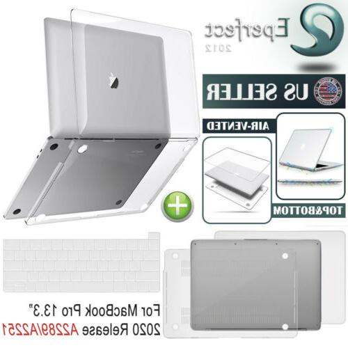 crystal clear case hard shell keyboard cover