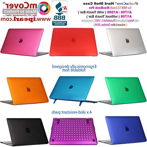 iPearl mCover Hard Shell Case for 13-inch A1708 MacBook Pro