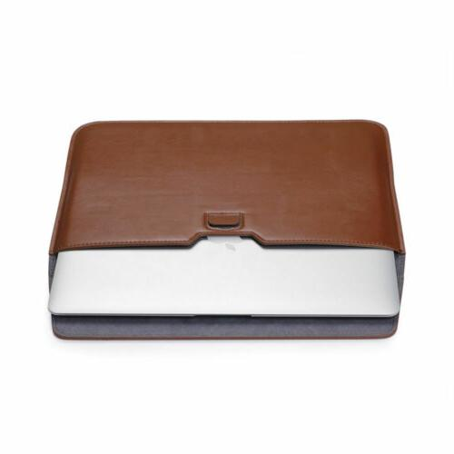 Leather Case For MacBook Pro 15 Slim Laptop Cover