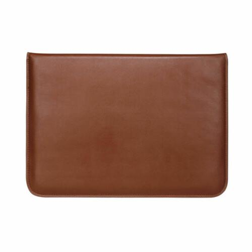 Leather MacBook Air Pro 15 Laptop Sleeve Cover