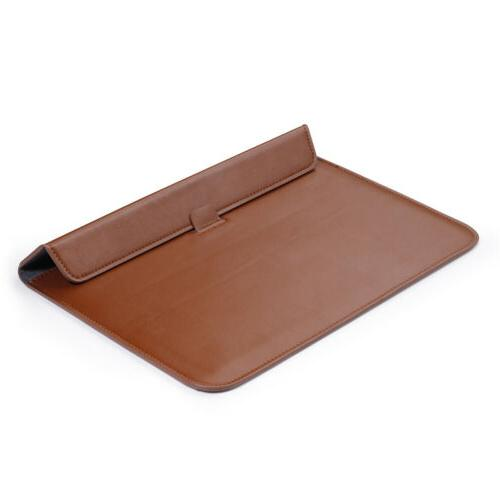 Leather Case For MacBook Air Pro 15 Slim Laptop Cover
