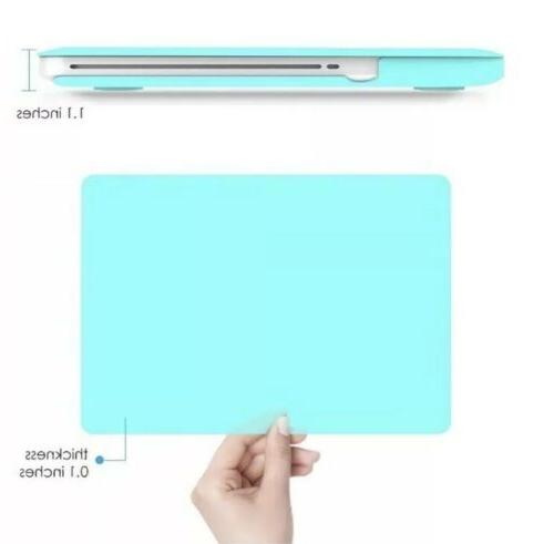 """iBenzer Macbook Air 11/"""" Soft Touch Hard Case Shell// Keyboard Screen Turquoise"""