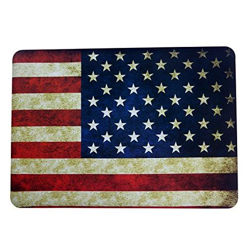 HDE MacBook and Cover Apple Laptop Model: US Flag