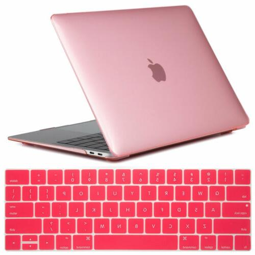 """For Air 13"""" Inch A1932 Clear Rubberized Case Keyboard Cover"""