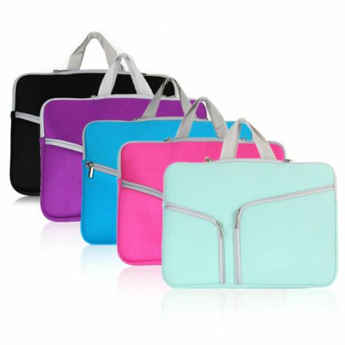 Laptop Sleeve Case Bag Pouch Carry Cover For Macbook Air Pro Retina 13 15 Inch