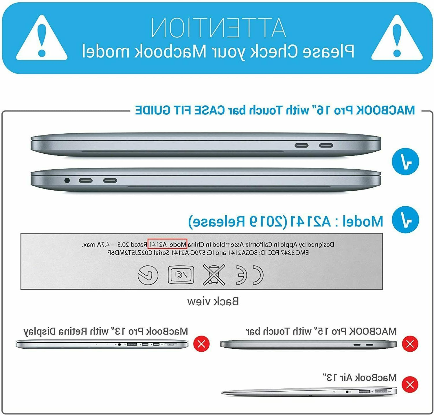 IBENZER MacBook Pro 16 Hard Case with Adapter