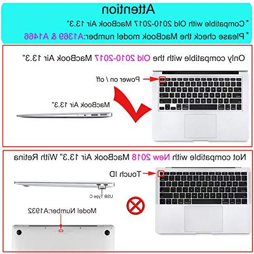 MOSISO MacBook Air 13 Inch , Plastic Hard Only