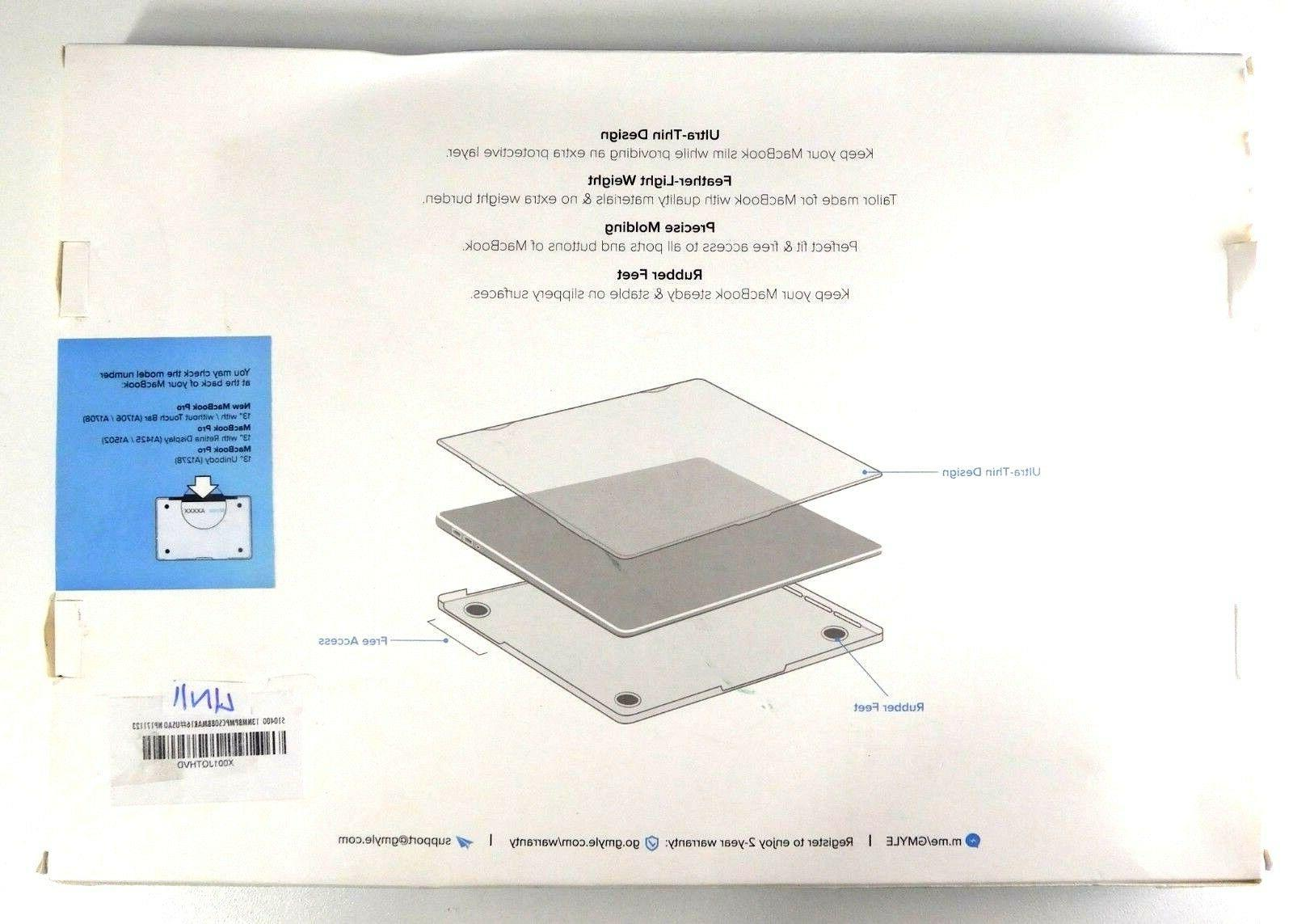 GMYLE Case for Macbook Pro