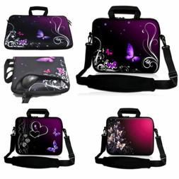 "Laptop Messenger Shoulder Bag Carry Case For 13.3"" 15.6"" 17."