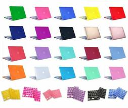 Laptop Rubberized Cover Case Hard Shell for Macbook Air/Pro/