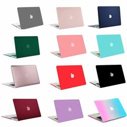 Mosiso Laptop Rubberized Hard Plastic Shell Cover Case For M