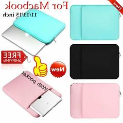 Laptop Sleeve Soft Case Portable Bag For Macbook Air/Pro 11/