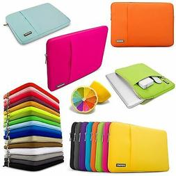 Laptop Soft Sleeve Bag Case Pouch For Apple Macbook Pro, Air