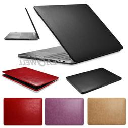 """Luxury Leather Case Cover for MacBook Pro 13"""" 15"""" Retina Tou"""