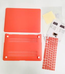 """MOSISO MacBook Air 13"""" Case Cover Orange Coral, for Models A"""