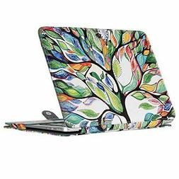 MacBook Air 13 Inch Case PU Leather Protective Cover Love Tr