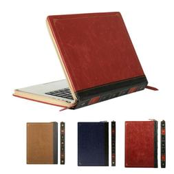 MOSISO for Macbook Air Pro 13 Retina Laptop Vintage PU Leath