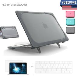 For Macbook Air Pro 13 inch Rigid Plastic Hard Case Cover with Keyboard Cover US