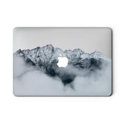 Nature Hard Case For Macbook Pro 13 15 2019 Foggy Mountains