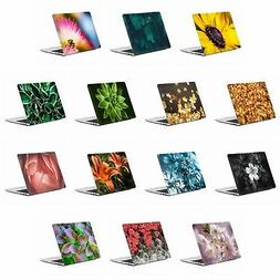 official flowers and leaves hard crystal case