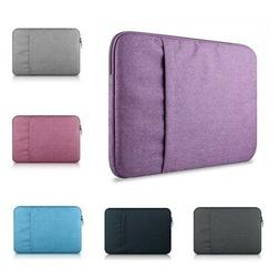 PC Laptop Protect Bag Sleeve Cover Case Pouch For Macbook Pr