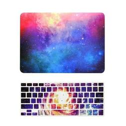 Pink Galaxy Graphic Matte Case + Keyboard Cover for MacBook