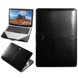 Premium Leather Laptop Sleeve Case Cover Bag For Macbook Air
