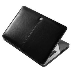 Premium Leather Laptop Sleeve Case Cover Bag For Macbook Pro