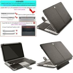Mosiso Pu Leather Case Compatible Macbook Pro 13 Inch With R