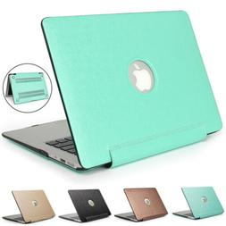 Slim PU Leather Case Cover For Apple Macbook Laptop Air Pro