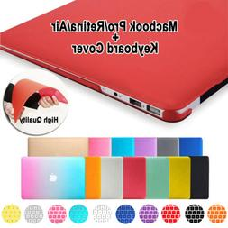 Rubberized Hard Case Shell+ Keyboard Cover for Macbook Pro 1