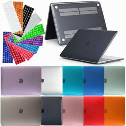 Rubberized Laptop Case Keyboard Cover For Macbook Air Pro Re