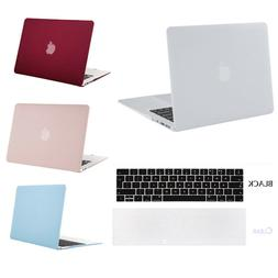 Mosiso Rubberized Plastic Hard Shell Cover Case for MacBook