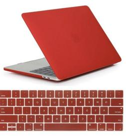 Se7enline Macbook Pro 12 Hard Case With Keyboard Cover Red