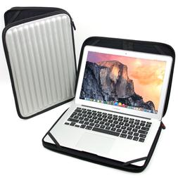 Silver Memory Foam Zipped Cover Case Sleeve For 13inch Apple