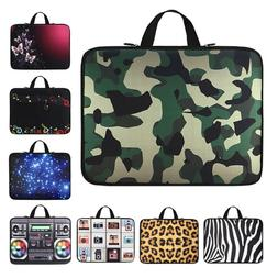 Sleeve Case Laptop Bag Notebook Cover For HP Lenovo Acer Del